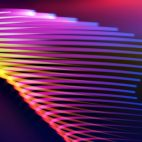'Spirona' - Moving And Bending Colorful Strokes Motion Background Loop_Sample3