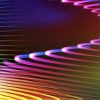 'Spirona' - Moving And Bending Colorful Strokes Motion Background Loop_SampleStill