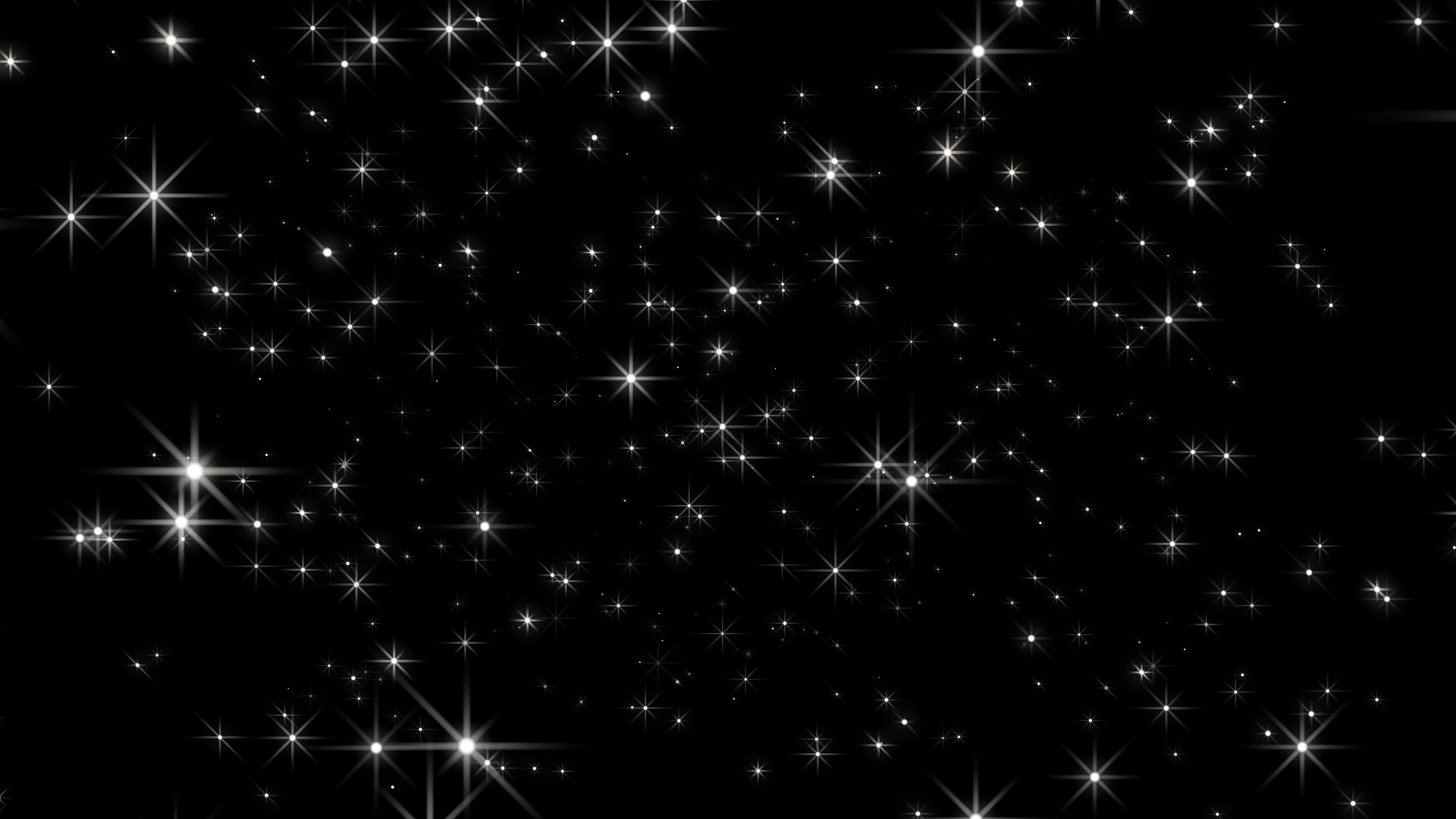 Starflight – Black Background