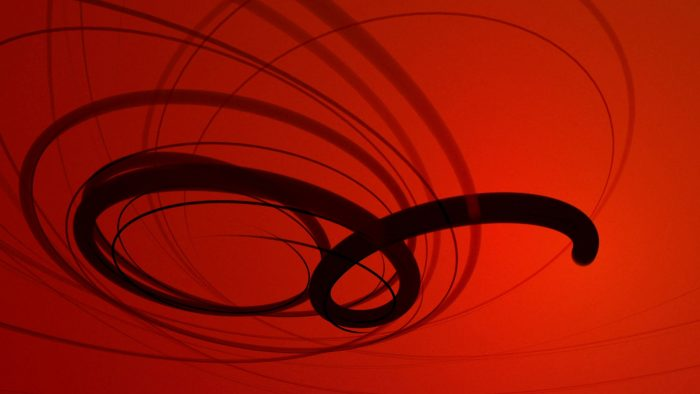'Swirlee' - Abstract Swirling Lines Motion Background Loop_SampleStill