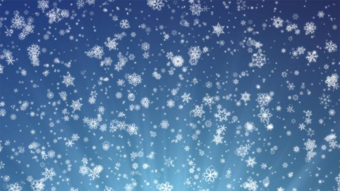 'Pretty Snow' - Snowflakes And Christmas Motion Background Loop-SampleStill