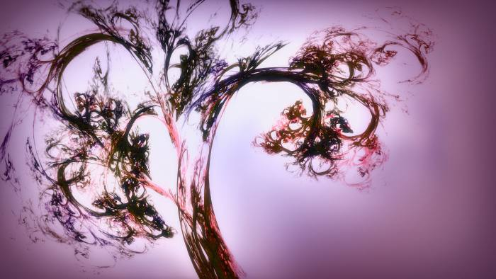 'Fractal 2' - Bright Organic Fractal Motion Background Loop-SampleStill