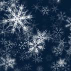 'Pretty Snow 2' - Glittering Christmas Snowflakes Motion Background Loop-Sample2