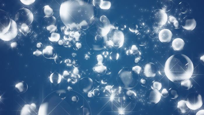'FlOrbs 2' - Glittering Spheres Motion Background Loop-SampleStill