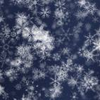 'Pretty Snow 3' - Detailed Ornamental Snow Motion Background Loop-Sample3