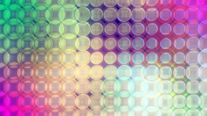 'Souza' - Retro-Futuristic Dots Motion Background Loop-SampleStill